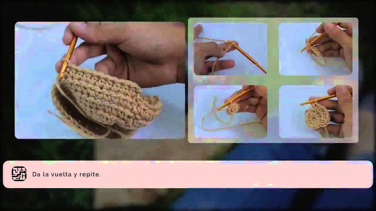 Cómo tejer un gorro de crochet para bebé - Gorrito para bebé[3]