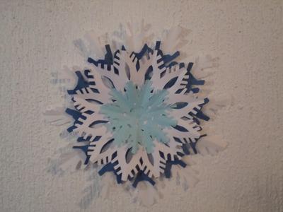 Copo de nieve de papel