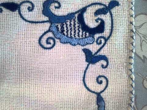 Diseños en bordado de punto mallorquín