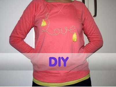 DIY Customizar una Sudadera