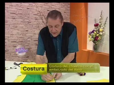 Hermenegildo Zampar  - Bienvenidas TV - Explica como hacer una Costura de Chaleco.