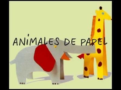 Manualidades para niños: animales de papel