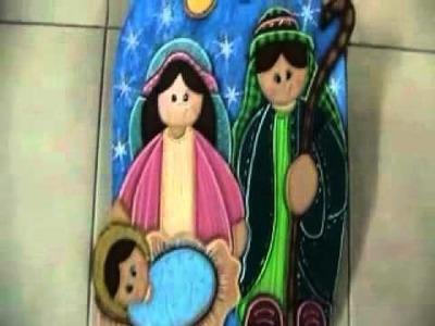 Pesebre Navideño (Nacimiento en Madera)