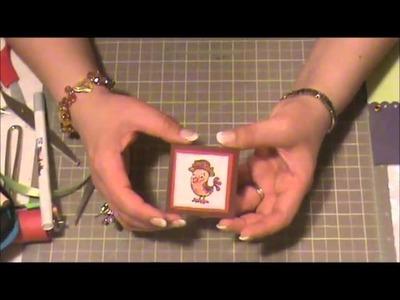 Tarjeta Sorpresa - Scrapbooking con Lily
