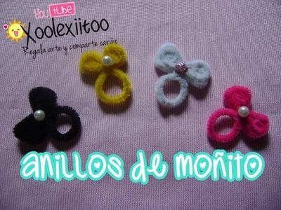 @xoOlexiitOo ❥DIY: Anillos de moñito