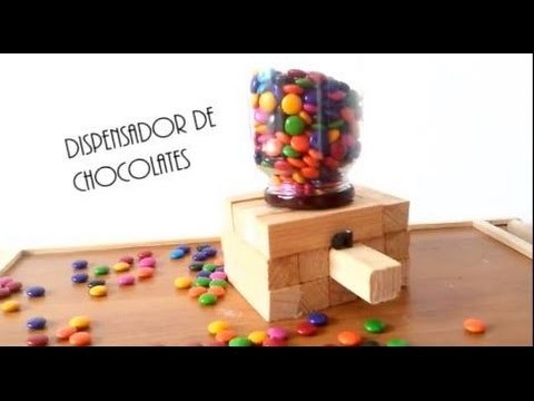 DISPENSADOR DE CHOCOLATES ❥ - JESSI PAPER