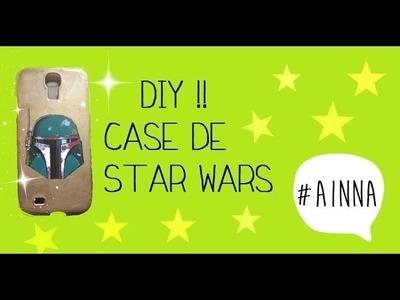 DIY case. carcasa para tu celular #Starwars #AINNA