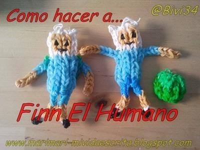DIY Como hacer a Finn El humano (hora de aventuras) con gomitas