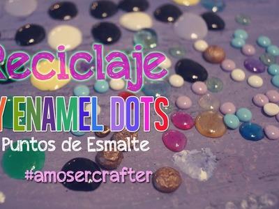 DIY como Hacer Puntos de Esmalte (Enamel Dots) ::Recicla::