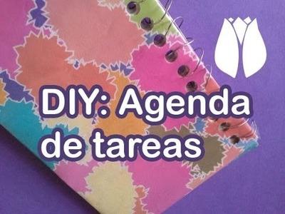 DIY: Has una libreta con material reciclado