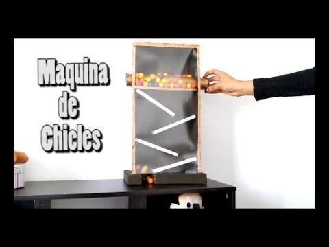 DIY Máquina de Chicles - Jessi Paper