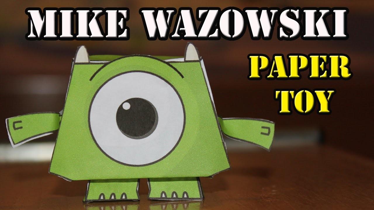MIKE WAZOWSKI |  Paper Toy