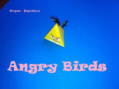 Paper Toys. Origami - Papiroflexia. Angry Birds 3D. #5