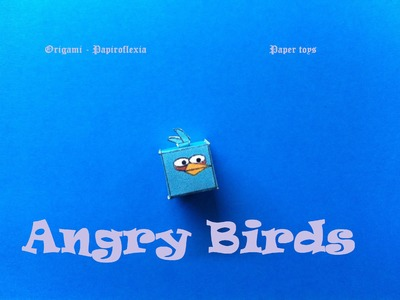 Paper Toys. Origami - Papiroflexia. Angry Birds 3D #8