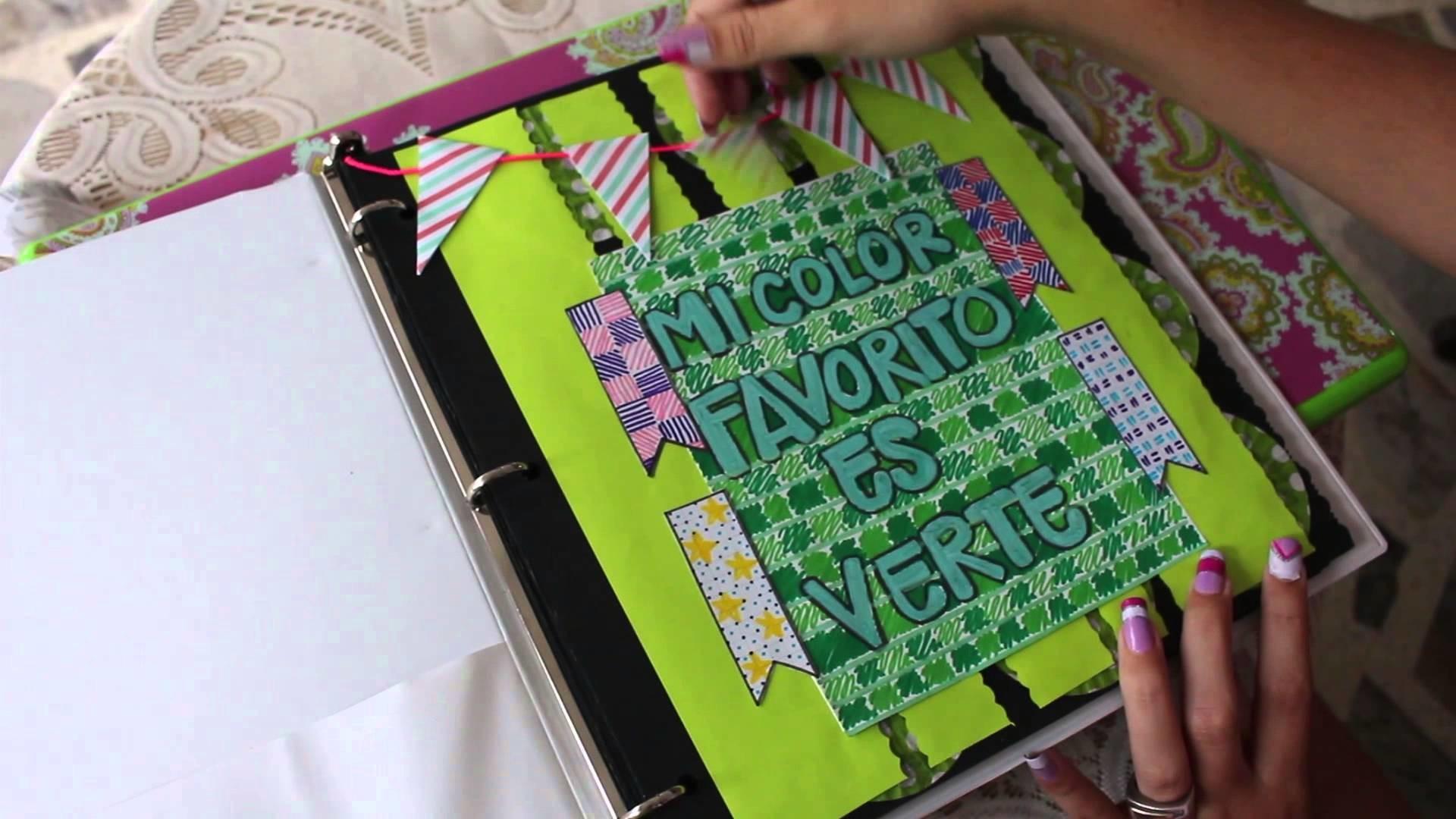 ÁLBUM idea regalo para Novio (Avance 1 ) Scrapbook