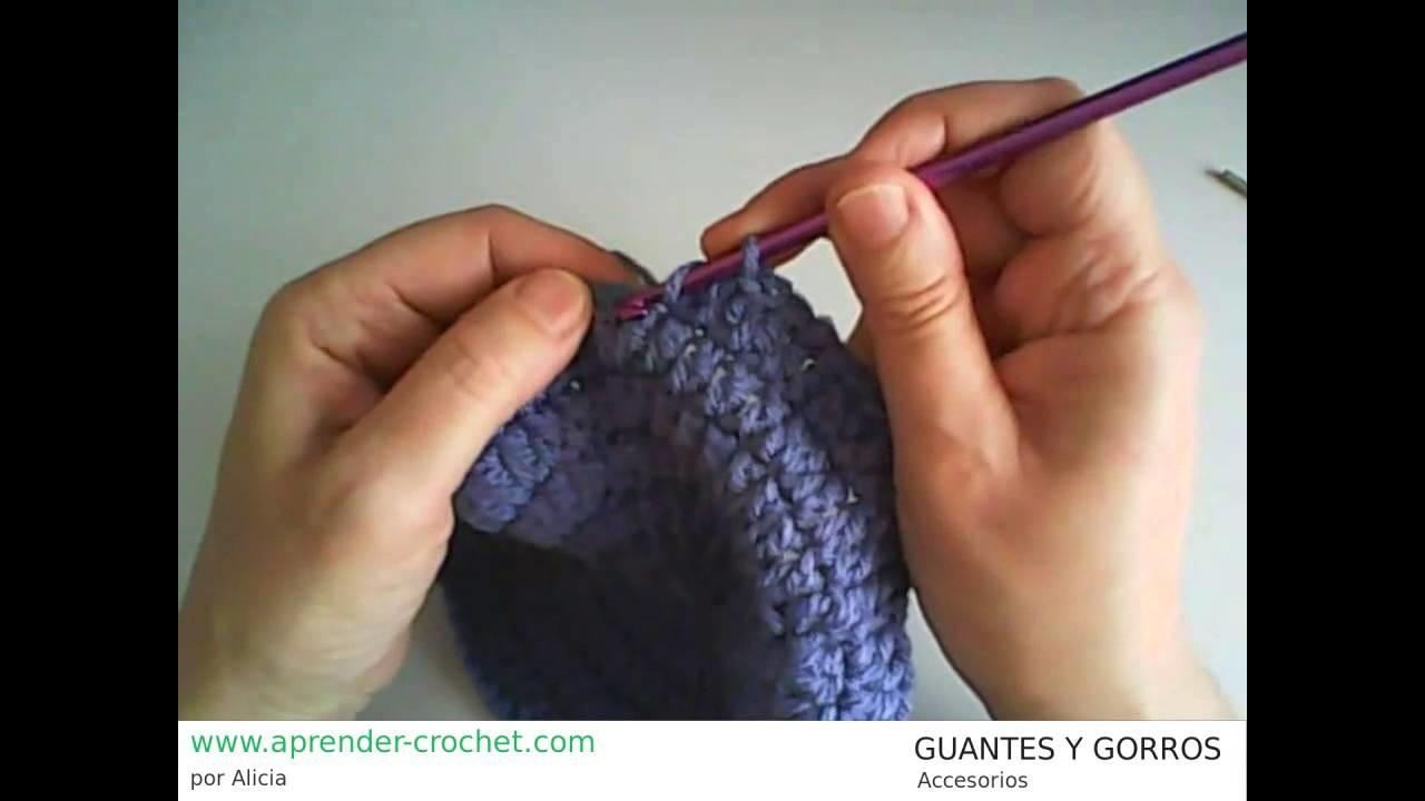 Como hacer Guantes y Gorros en crochet o ganchillo