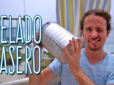 Cómo Hacer Helado Fácil y Rápido en Casa - Luisito Comunica #mituverano #viveelverano