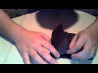 Como hacer una mascara de lobo de papel