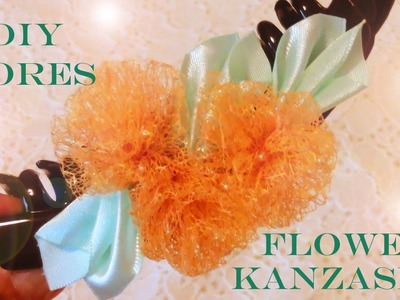 DIY accesorios de moda en cintas de organza