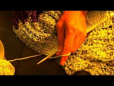 Falda tejida con dos agujas 3