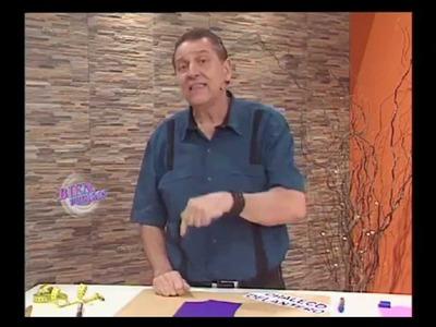 Hermenegildo Zampar  - Bienvenidas TV - Nos enseña a hacer la Delantera de Chaleco.