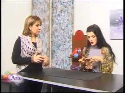 Hilados LHO & ARTEZ TV: Chaleco a dos agujas.