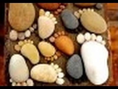 Ideas de arte en las piedra, manualidades en las piedras