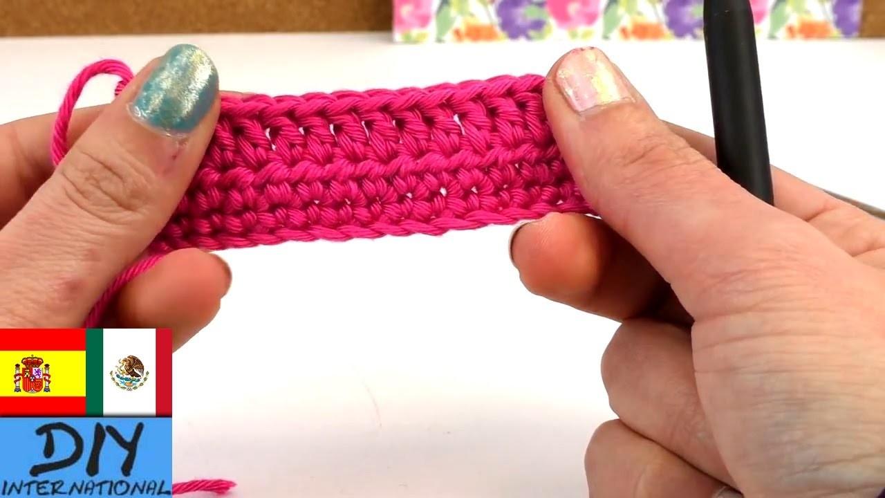 Los básicos del tejido con ganchillo - tejido a crochet paso a paso en español