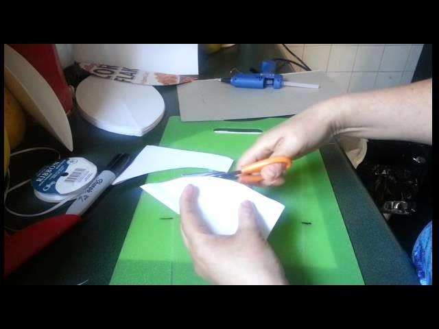 Manualidades: Flor de papel