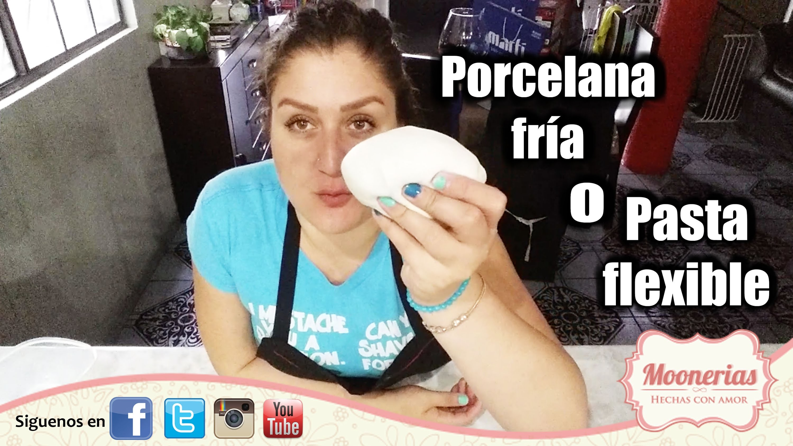 Tutorial para hacer Porcelana fría DIY Fácil. DIY EASY Cold Porcelain Tutorial