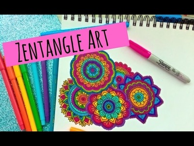 Zentangle Art Paso a Paso