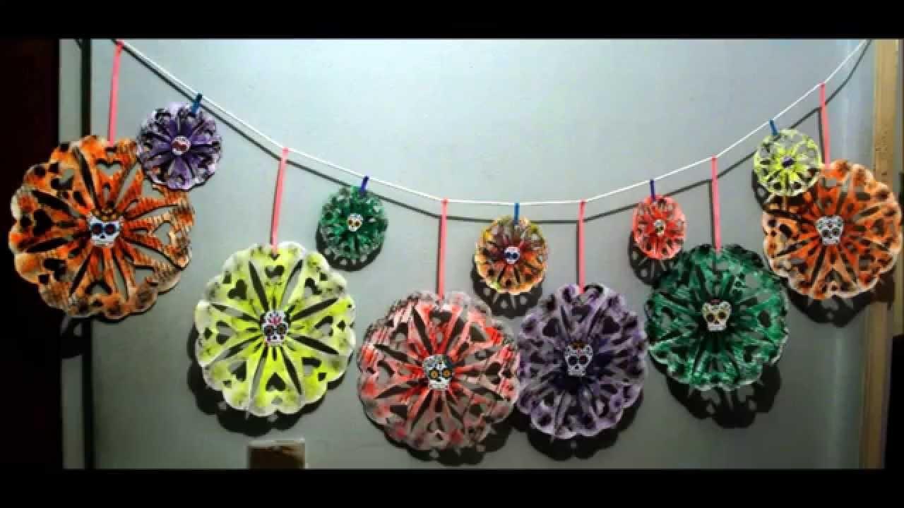 7.4.3 Holidays: Decora tu pared en Día de Muertos (DIY) {Estuche de Monerías} [Halloween]