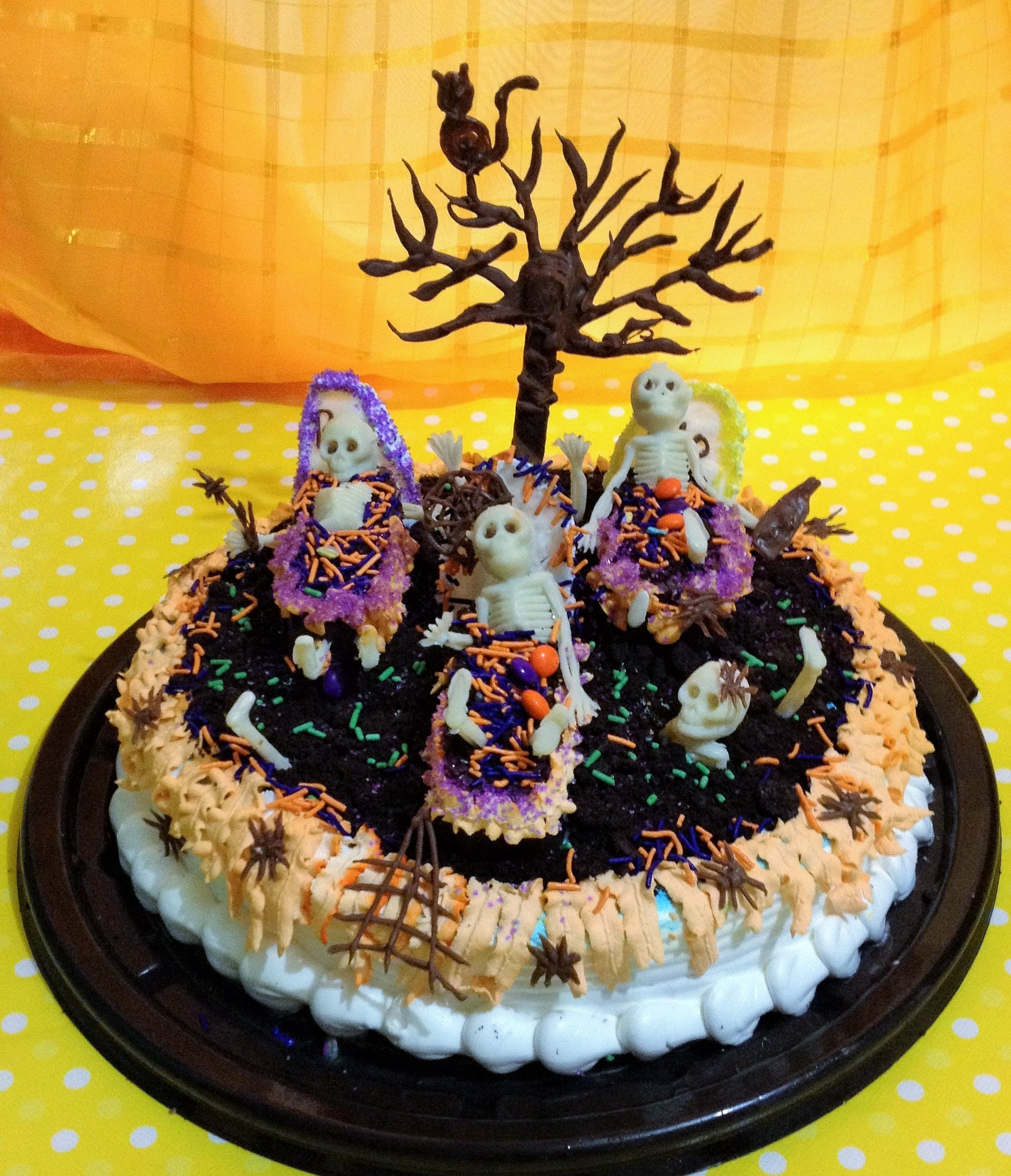 DIY decora pastel tarta  Día de Muertos halloween cake