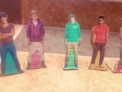 DIY - *Figuras de cartón de One Direction* .__.♥ Manualidades de One Direction