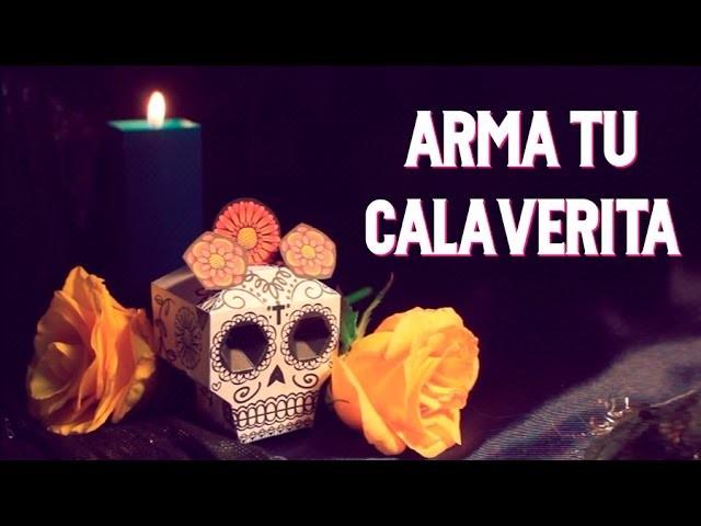 Armando tu Paper Toy de Calaverita