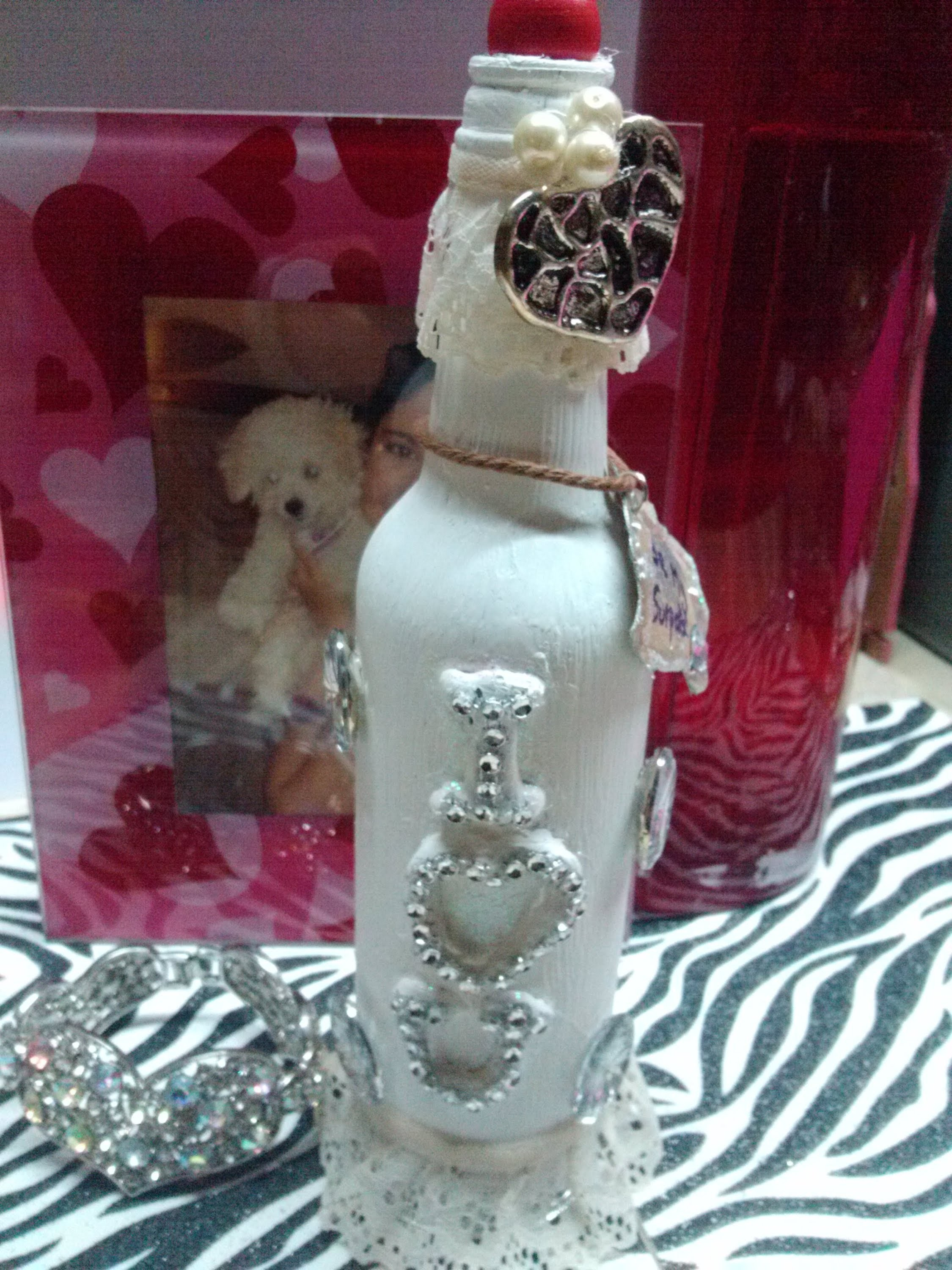 DIY Botella Sorpresa. Surprise Bottle. Valentine's Day. Amor y amistad