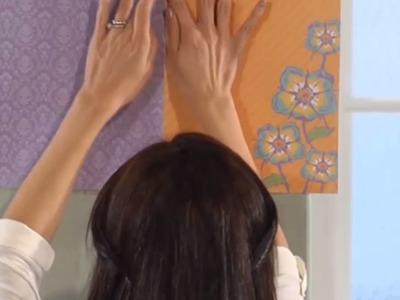 DIY: Cómo decorar una pared con decoupage | Decoración hazlo tú mismo