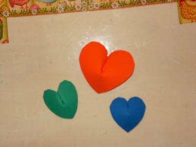 DIY Cómo hacer unos hermosos corazones  en 3D