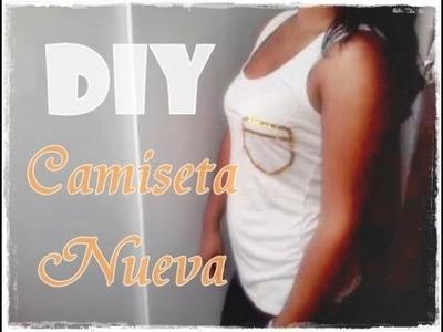 DIY DECORANDO NUESTRA CAMISETA :D