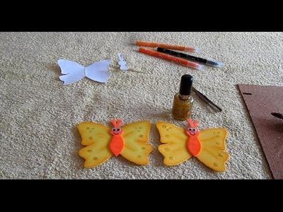 DIY mariposas foami