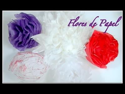 Flores de Papel | DIY