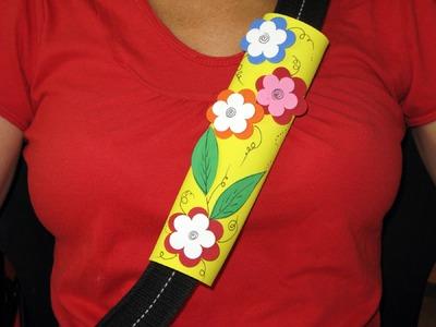 Adorno para el cinturón de seguridad - Manualidades para todos
