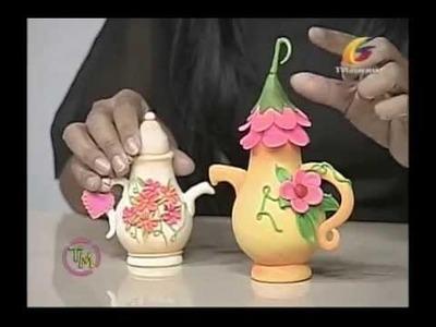 Bombillos decorados por: Yusleidys Gonzalez (Taller de manualidades)