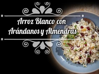 Chef Oropeza Receta: Arroz Blanco con Arándanos-Recipe:White Rice with raisins