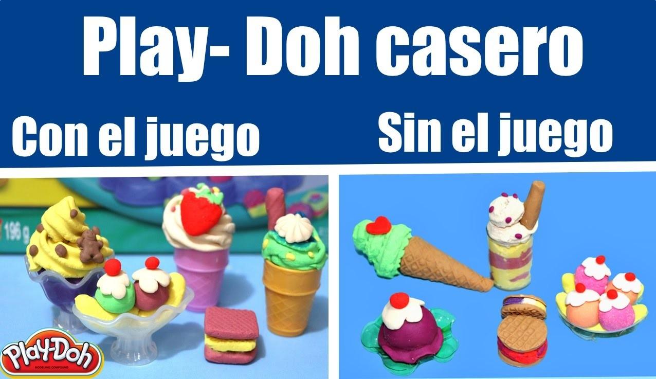Cómo hacer plastilina casera. DIY Play-Doh
