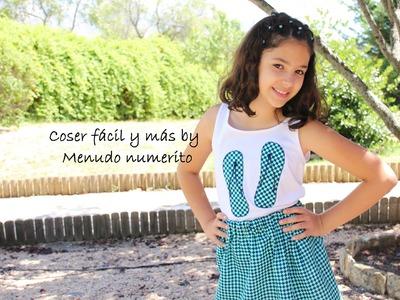 """Cómo hacer una falda """"estilo Violetta"""" de Disney Channel"""
