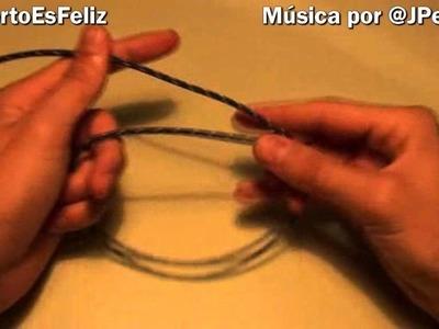 Cómo hacer una pulsera (tutorial con truco de magia)