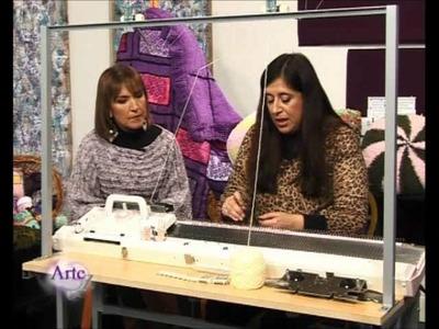 Cómo tejer una casaca a máquina