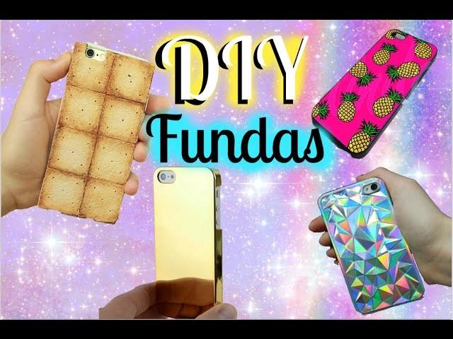 DIY fundas para tu teléfono