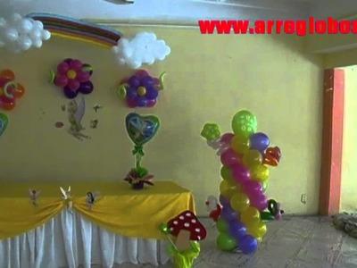 Fiesta Tinkerbell www.arreglobos.com
